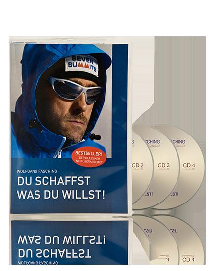 """Hörbuch """"Du schaffst was Du willst"""""""