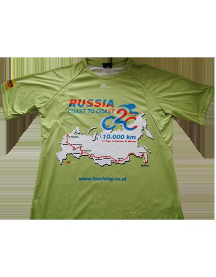 "T-Shirt ""Russia Coast to coast"""